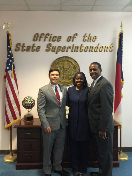 State-superintendent-Mark-Johnson-and-The-McQueen's